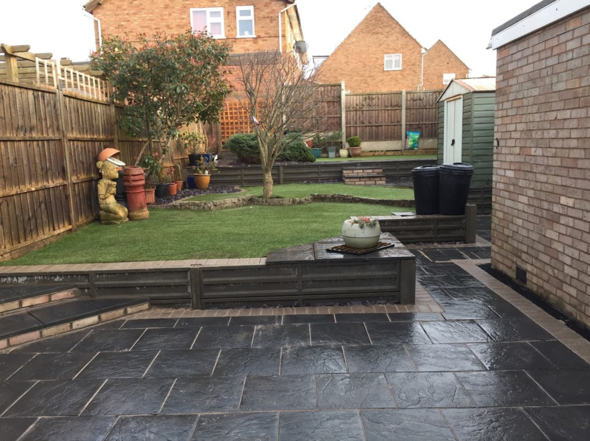 Patios, Walls and Borders | PaveTar Construction Leicester