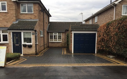 resin driveways leicestershire