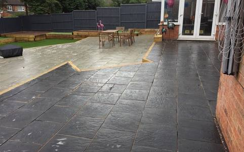 Patio builder Leicester