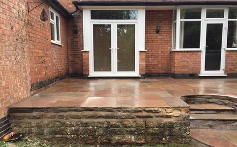 Patio services Leicester